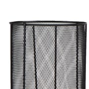 Ebern Designs Black Metal Mesh Umbrella Stand