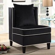 Ivy Bronx Landen Accent Chair; Black