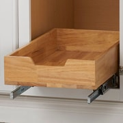 Rebrilliant Wood Pull Out Drawer; 6.04'' H x11.5'' W x 20.98'' D