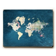 Ebern Designs 'Where to Next' Rectangle Graphic Art Print on Wood