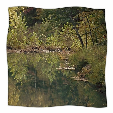 East Urban Home 'In The Woods 3' By Sylvia Coomes Fleece Blanket; 80'' L x 60'' W x .25'' D