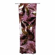 Ebi Emporium Fiesta Decorative Nature / Floral Sheer Rod Pocket Curtain Panels Panels (Set of 2)