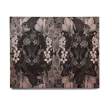 East Urban Home 'Magnolia Cushion' Graphic Art Print on Wood