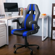 Freeport Park Alleffra Racing High-Back Executive Chair; Blue