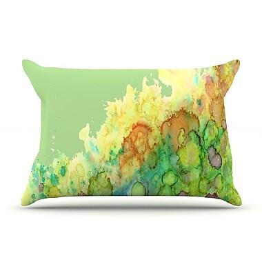 East Urban Home Rosie Brown 'Sea Life' Pillow Case; Green