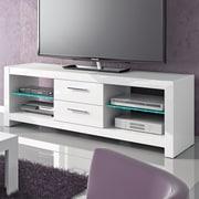 Orren Ellis Dina TV Stand; White
