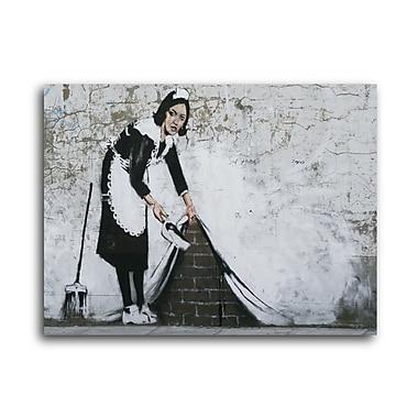 Ivy Bronx 'Swept Under' Graphic Art Print on Brushed Aluminum; 11'' H x 14'' W x 1'' D