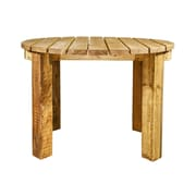 Loon Peak Abella Patio Table; Exterior Stain