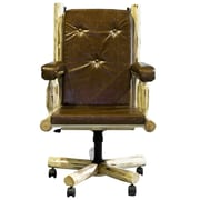 Loon Peak Abordale High-Back Bankers Chair; Ready