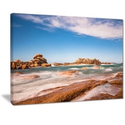 East Urban Home Atlantic Ocean Cost In Brittany Graphic Art Print On Canvas 20