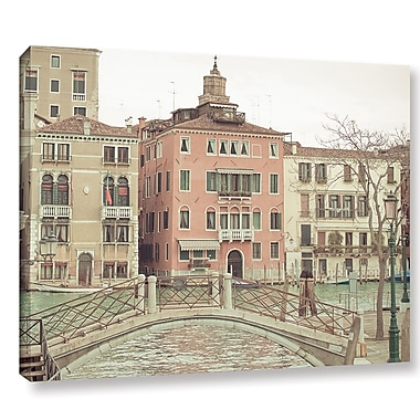 Ophelia & Co. Sunday Morning in Venice Photographic Print on Wrapped Canvas; 14'' H x 18'' W x 2'' D