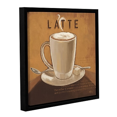 Red Barrel Studio Coffee and Co I Framed Graphic Art; 10'' H x 10'' W x 2'' D