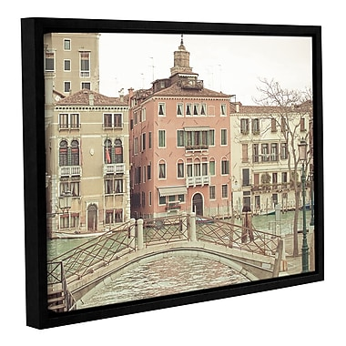 Ophelia & Co. Sunday Morning in Venice Framed Photographic Print; 14'' H x 18'' W x 2'' D