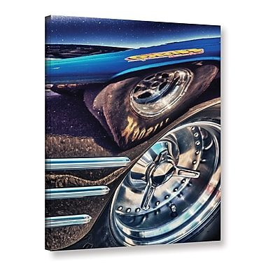 Zoomie Kids Speedbumps Photographic Print on Wrapped Canvas; 32'' H x 24'' W