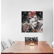 East Urban Home 'Armas De Mujer' Graphic Art on Wrapped Canvas; 18'' H x 18'' W x 0.75'' D