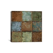 iCanvas Tapestry Tiles by Daphne Brissonnet Painting Print on Wrapped Canvas