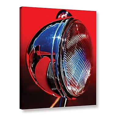 Ebern Designs Optical Acetylene Photographic Print on Wrapped Canvas; 8'' H x 10'' W