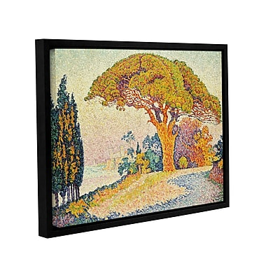 Pine Trees at Bertaud, Saint-Tropez, 1900 by Paul Signac Framed Painting Print on Wrapped Canvas