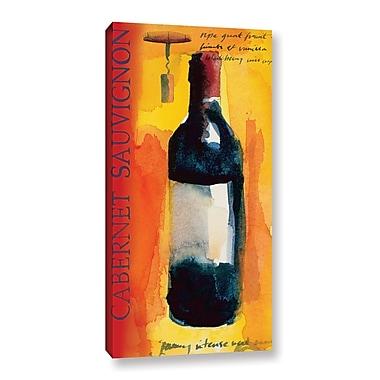 Fleur De Lis Living 'Full Bodied' Painting Print on Wrapped Canvas; 48'' H x 24'' W x 2'' D