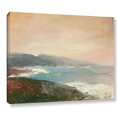 Highland Dunes 'Lands End' Painting Print on Wrapped Canvas; 14'' H x 18'' W x 2'' D
