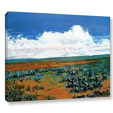 Loon Peak Rolling Clouds Painting Print on Wrapped Canvas; 36'' H x 48'' W