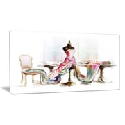 East Urban Home Dressed Tabletop Mannequin Photographic Print on Canvas; 32 '' W x 16 '' H