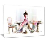 East Urban Home Dressed Tabletop Mannequin Photographic Print on Canvas; 40 '' W x 30 '' H