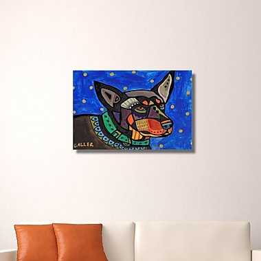 Ebern Designs 'Australian Kelpie' Print on Wrapped Canvas; 20'' H x 30'' W x 0.75'' D