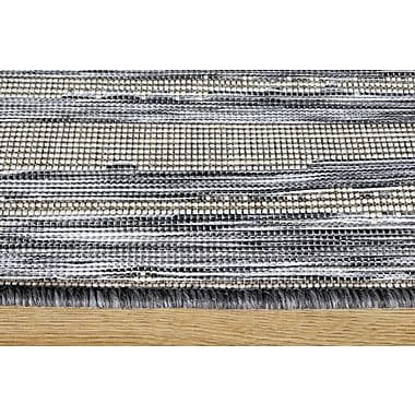 Corrigan Studio Memphis Stattic Stripes Outdoor Rug; 7'10'' x 10'10''