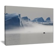 East Urban Home Nature of Greenland Graphic Art Print on Canvas; 20 '' W x 12 '' H