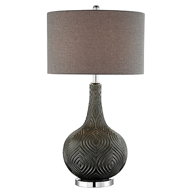 Ivy Bronx Cohen 33'' Glass Table Lamp