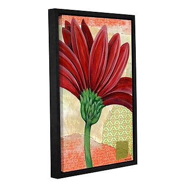 World Menagerie 'Gerbera' Framed Painting Print on Wrapped Canvas; 48'' H x 32'' W x 2'' D