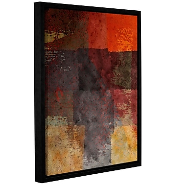 Red Barrel Studio Quilted Framed Graphic Art on Wrapped Canvas; 48'' H x 36'' W x 2'' D