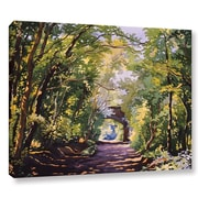 August Grove The Valley Walk Sudbury Painting Print on Wrapped Canvas; 14'' H x 18'' W