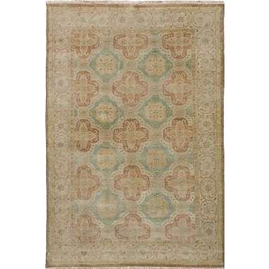 Darby Home Co Batson Wool Hand-Knotted Light Khaki Area Rug