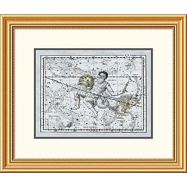 East Urban Home 'Maps of the Heavens: Aquarius the Water Bearer' Framed Print
