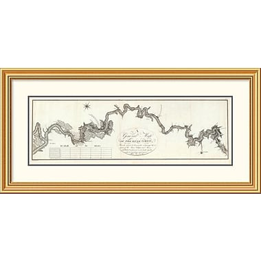 East Urban Home 'A General Map of The River Ohio, 1796' Framed Print