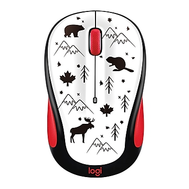 Logitech M325 Wireless Mouse, Canada Icons