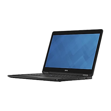 Dell – Portatif Latitude E7470 46G0N, 14 po, 2,4 GHz Intel Core i5-6300U, SSD 128 Go, 4 Go DDR4, Windows 7 Pro