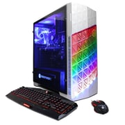 CYBERPOWERPC Gamer Master GMA300 Desktop (AMD Ryzen 7 1700, 1TB HDD, 8GB DDR4, Win 10, NVIDIA® GeForce® GTX 1050Ti)
