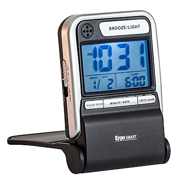 Ergo Smart LCD Travel Alarm (38701)