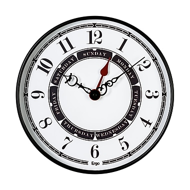 Ergo Dayminder Wall Clock, 16
