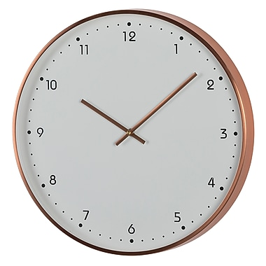 Ergo Sweep Silent Metal Clock, 16