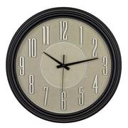 Ergo – Horloge murale Diego, 18 po, cadran or (79142)