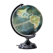 "Ergo Terra Blue Illuminated Globe, 12"" x 14.5"" (95018)"