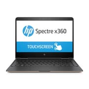 "HP Spectre x360 1EL98UA#ABL 13.3"" Touch Screen 2-in-1, 2.5 GHz Intel Core i5-7200U, 256 GB SSD, 8 GB LPDDR3, Windows 10"