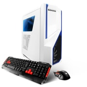 iBUYPOWER - PC de table de jeu CA670K, 4 GHz Intel Core i7-6700K, DD 1 To + 120 Go SSD, 16 Go DDR4, AMD RX480, Win10