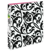"Avery Durable View Binder w/1""Round Rings 26747, Damask, 1""Binder, 175 Sheet Capacity, Round Ring Fastener, 2 Internal Pocket"
