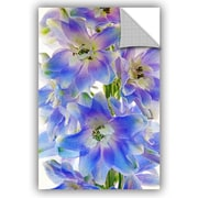 August Grove Buradale Floral Finery Wall Decal; 18'' H x 12'' W x 0.1'' D