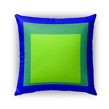 Latitude Run Balog Blue/Green Indoor/Outdoor Pillow